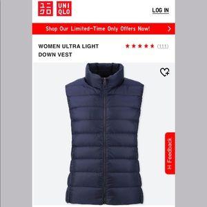 Uniqlo Ultra Light Down Vest